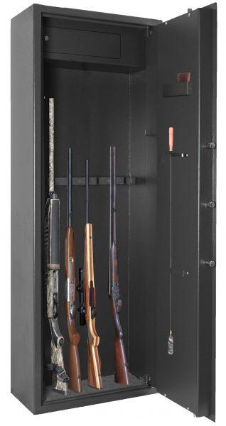 Coffre ELITE ALPHA Electronique 8 armes avec coffre intérieur (58kg)