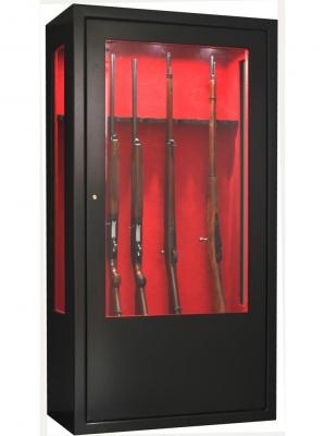 Coffre INFAC Vitrine V62 10 armes - coffre intérieur - éclairage (170kg)