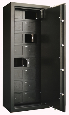 Armoire INFAC Collectivités 16 compartiments pour armes de poing