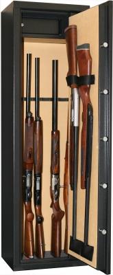 Coffre INFAC Classic CD10 8+2 armes avec lunette - coffre intérieur (92kg)