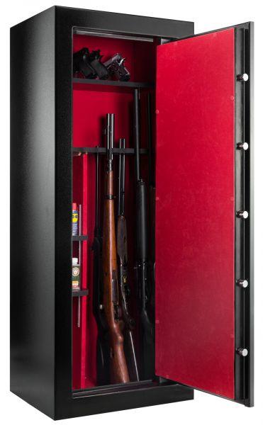 Coffre pour armes RIETTI Premium 133kg (18 armes)