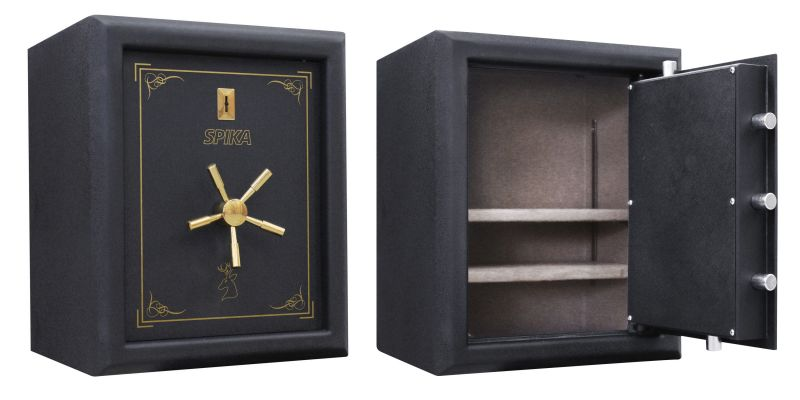 coffre premium spika pour armes de poing et munitions. Black Bedroom Furniture Sets. Home Design Ideas