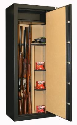 Coffre INFAC Executive ED18  18 armes avec lunette - coffre intérieur - étagères (146kg)