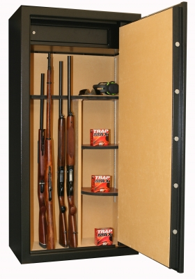 Coffre INFAC Executive ED23 23 armes avec lunette - coffre intérieur - étagères (165kg)