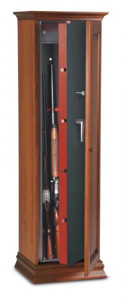 Armoire à fusils en bois Technomax TCH/5L (5 armes)