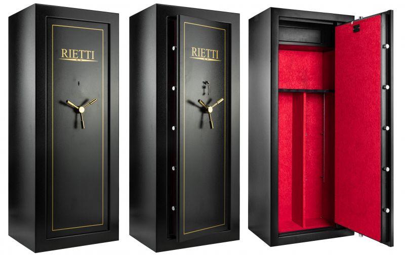 Coffre pour armes RIETTI Premium 111kg (18 armes)