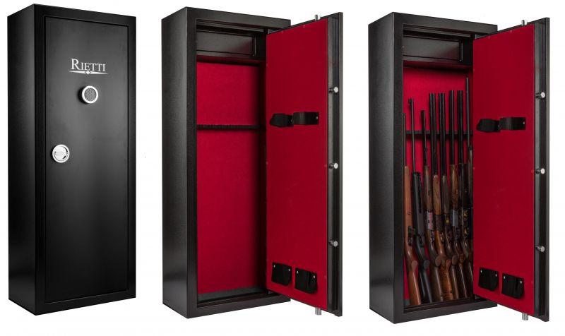 Coffre pour armes RIETTI Classic Digital 86kg (8 2 armes)