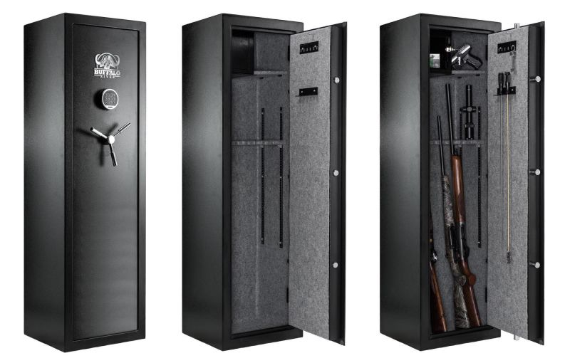 Coffre BUFFALO RIVER Digital Premium 80 kg (10 armes)