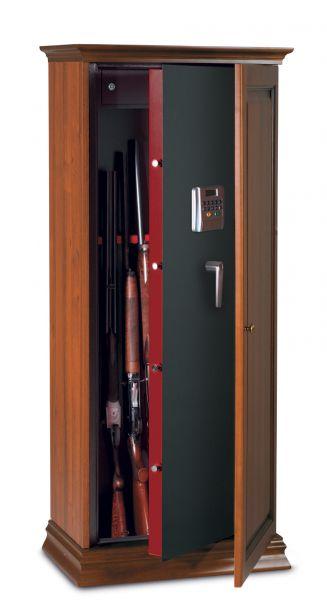 Armoire à fusils en bois Technomax TCE/10L (10 armes)